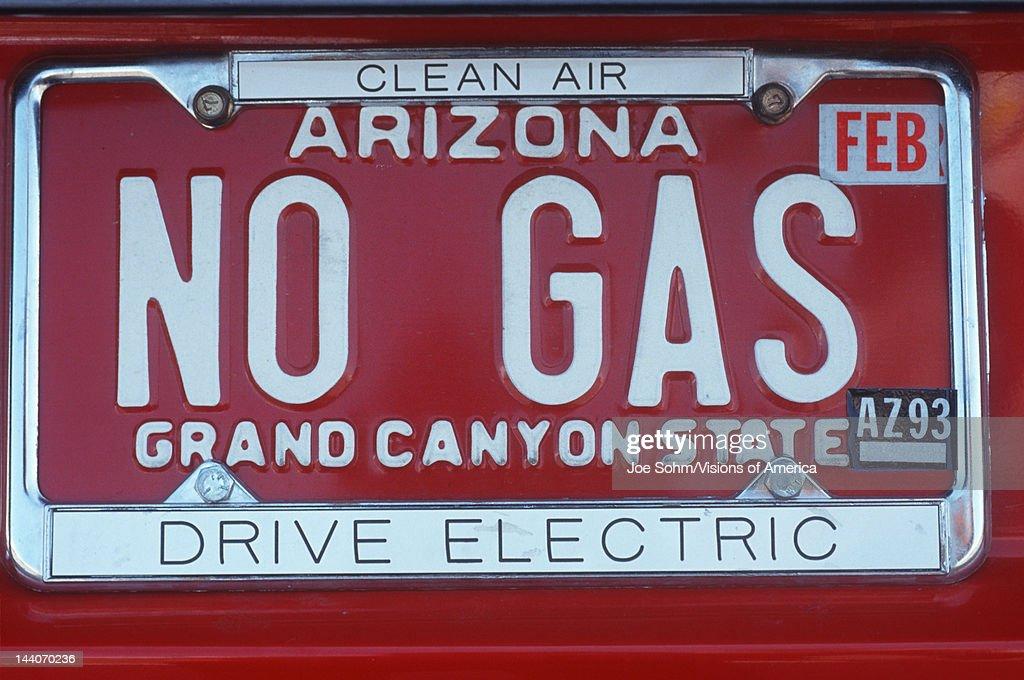 Vanity License Plate Arizona