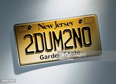 Nj License Plate Stock Photos And Pictures