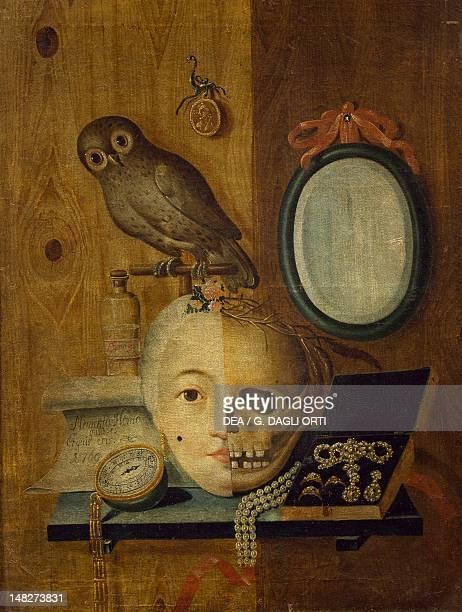 Vanity painting Austria 18th Century