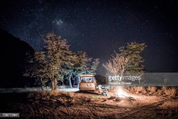 Vanlife camping in Cochise Stronghold