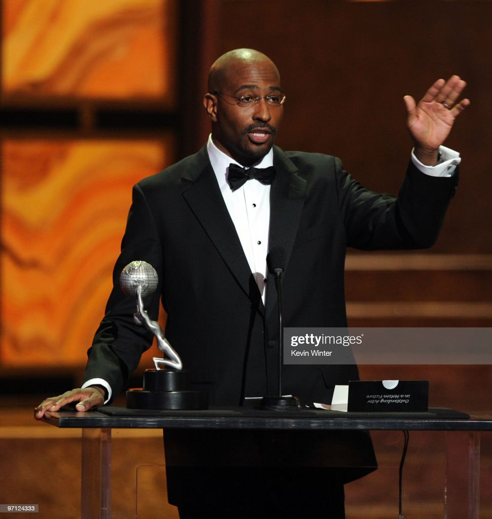 Vann Jones accepts the President's Award onstage during the 41st NAACP Image awards held at The Shrine Auditorium on February 26, 2010 in Los Angeles, California.