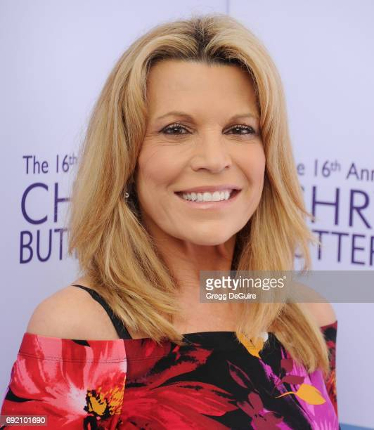 Vanna White arrives at the 16th Annual Chrysalis Butterfly Ball at a private residence on June 3 2017 in Brentwood California