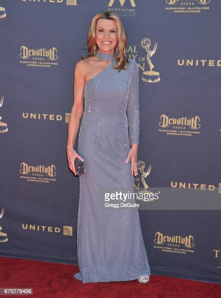 Vanna White arrives at the 44th Annual Daytime Emmy Awards at Pasadena Civic Auditorium on April 30 2017 in Pasadena California