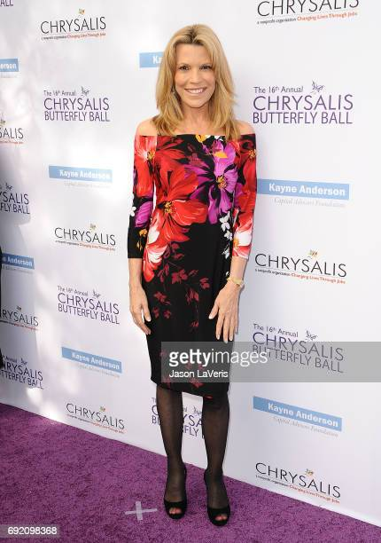 Vanna White attends the 16th annual Chrysalis Butterfly Ball on June 3 2017 in Brentwood California