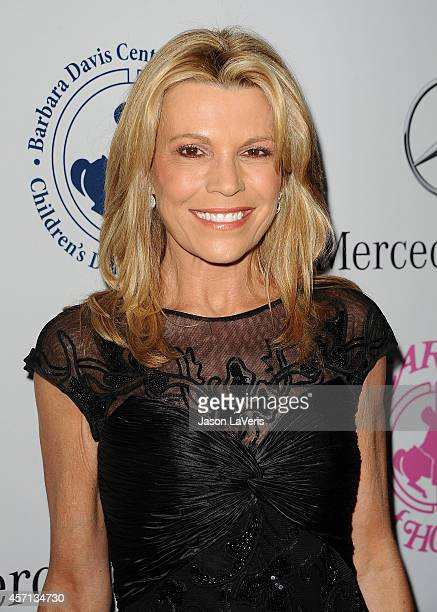 Vanna White attends the 2014 Carousel of Hope Ball at The Beverly Hilton Hotel on October 11 2014 in Beverly Hills California