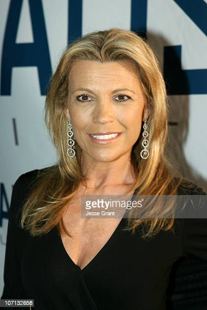 Vanna White during 2007 Cannes Film Festival Palisades Pictures Party A Salute to Independent Pictures at Private Residence in Cannes France