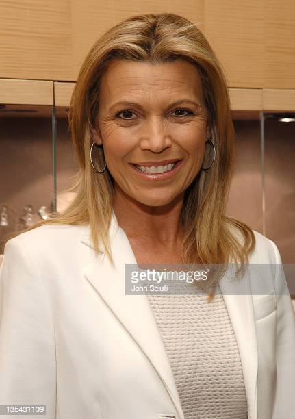 Vanna White during 'The Black Book of Hollywood Beauty Secrets' Debut Party Hosted by Kelly and Martin Katz at Martin Katz Ltd in Los Angeles...