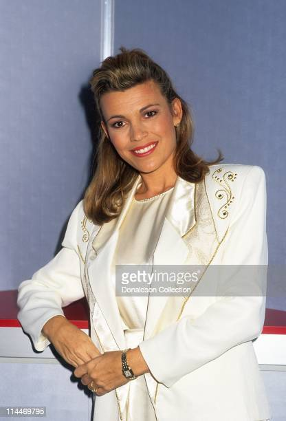 Vanna White poses for a portrait on December 6 1993 in Los Angeles California
