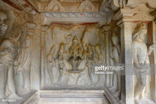 Varaha Cave Temple in Mahabalipuram The Varaha Cave Temple is a rockcut cave temple located at Mamallapuram It's an example of monolithic Indian...