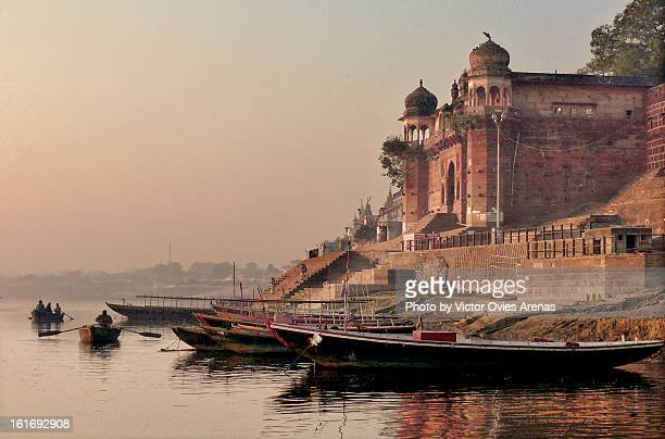 Varanasi: Ganga River at Sunrise