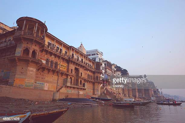 Varanasi holy place by the Ganges