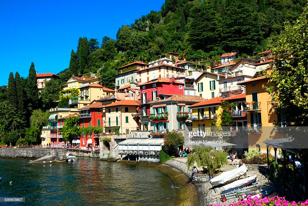 Varenna, Lake Como : Stock Photo