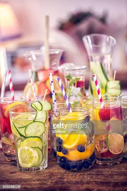 Variation de l'eau et des Fruits frais