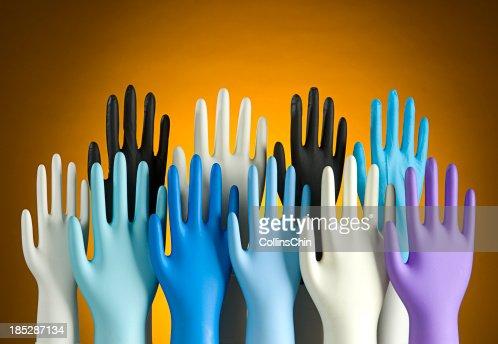 Variation of Latex Glove