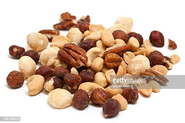 variation of salted nuts