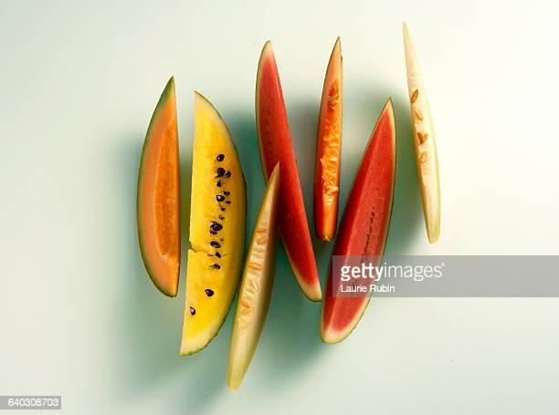 Varieties of  Melon