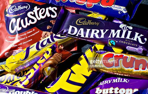 A variety of Cadbury's chocolate products are pictured in London on January 19 2010 British confectioner Cadbury said Tuesday it had agreed to a...
