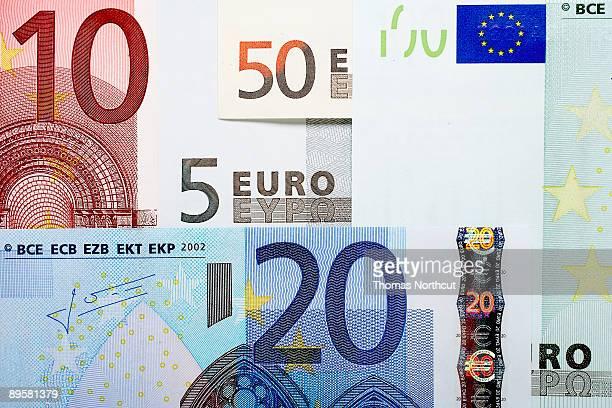 Variety of Euros