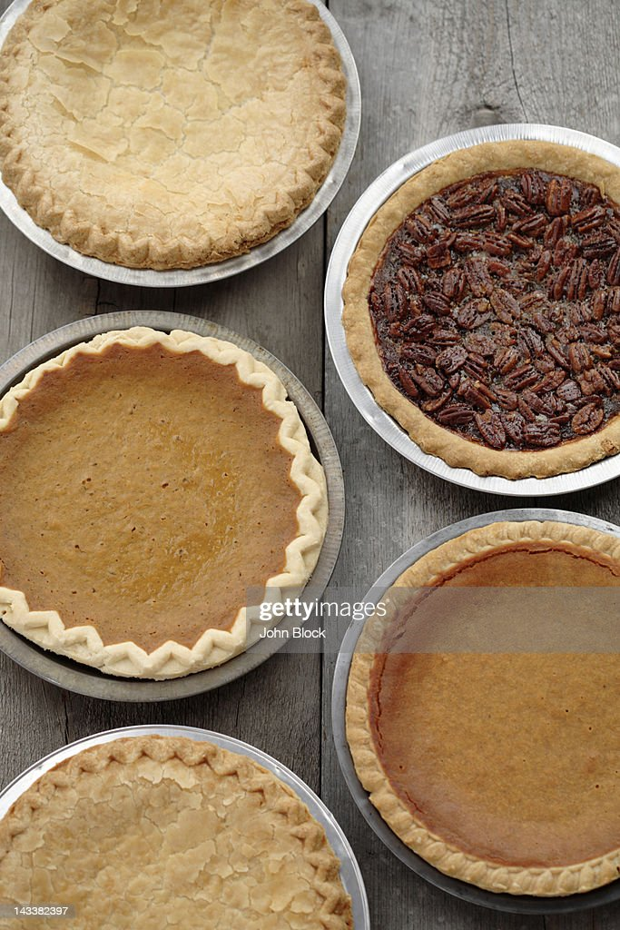 Variety of fresh, homemade pies
