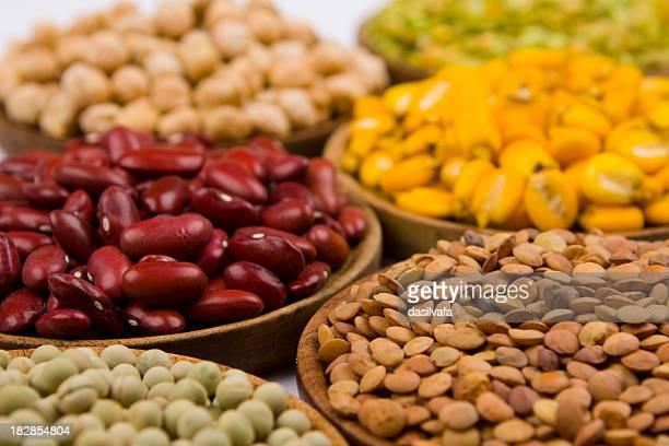 Auswahl von Getreide