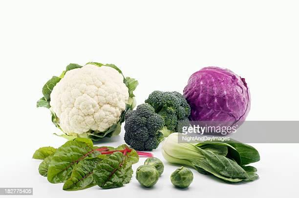 Auswahl an gesundem Gemüse