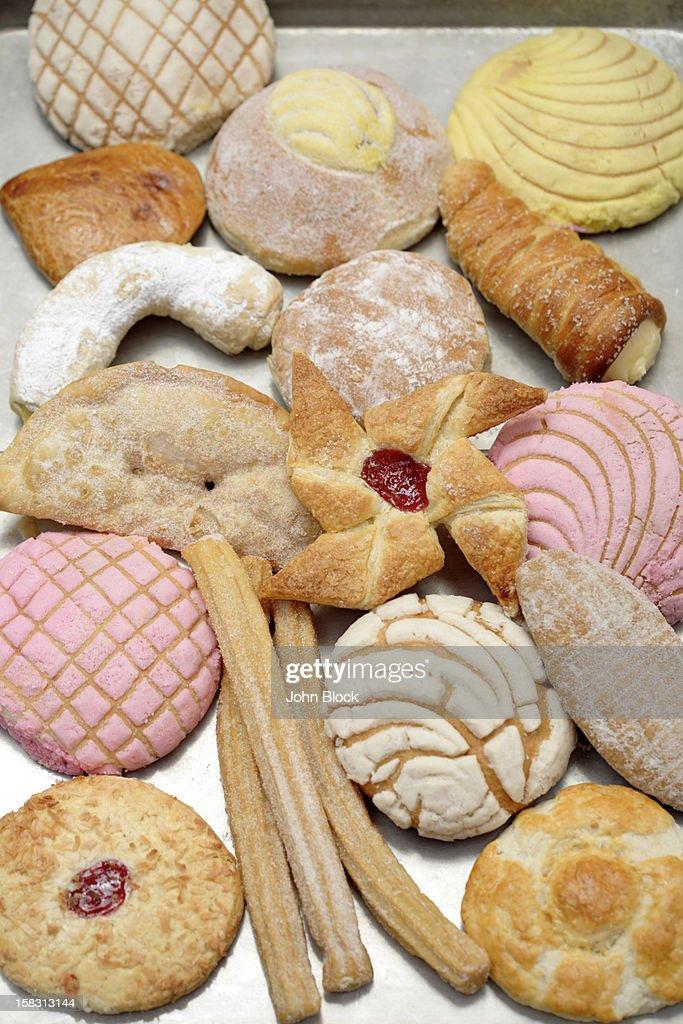Variety of Hispanic pastries : Stock Photo