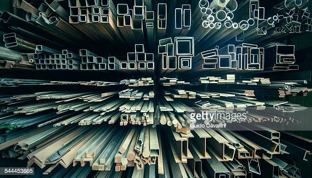 Variety of iron bars