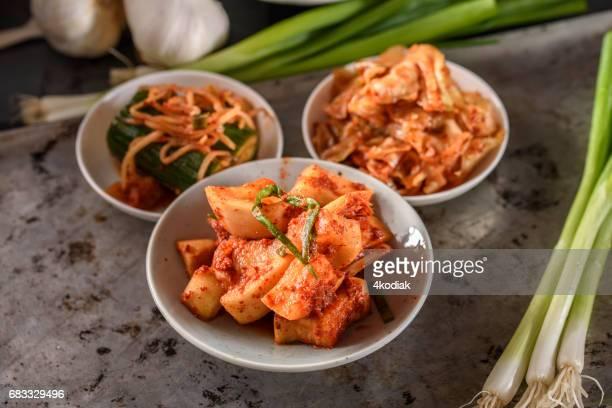 Variedad de Kimchee