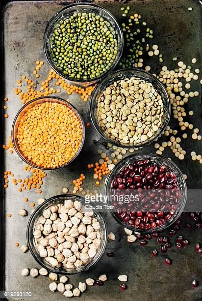 Variety of legumes