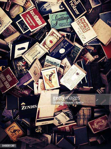 Variety Of Matchboxes