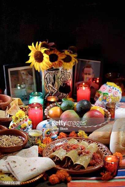 Variety of Mexican celebratory foods