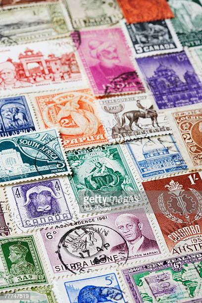 Variety of Postage Stamps