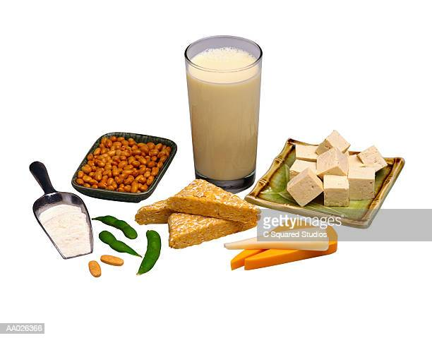 A Variety of Soy Products
