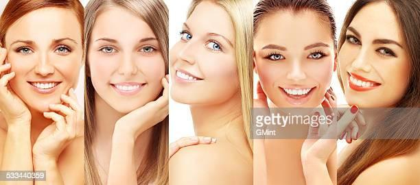 Variety of women .