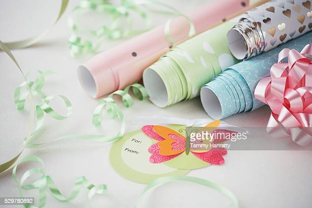Variety of Wrapping Paper
