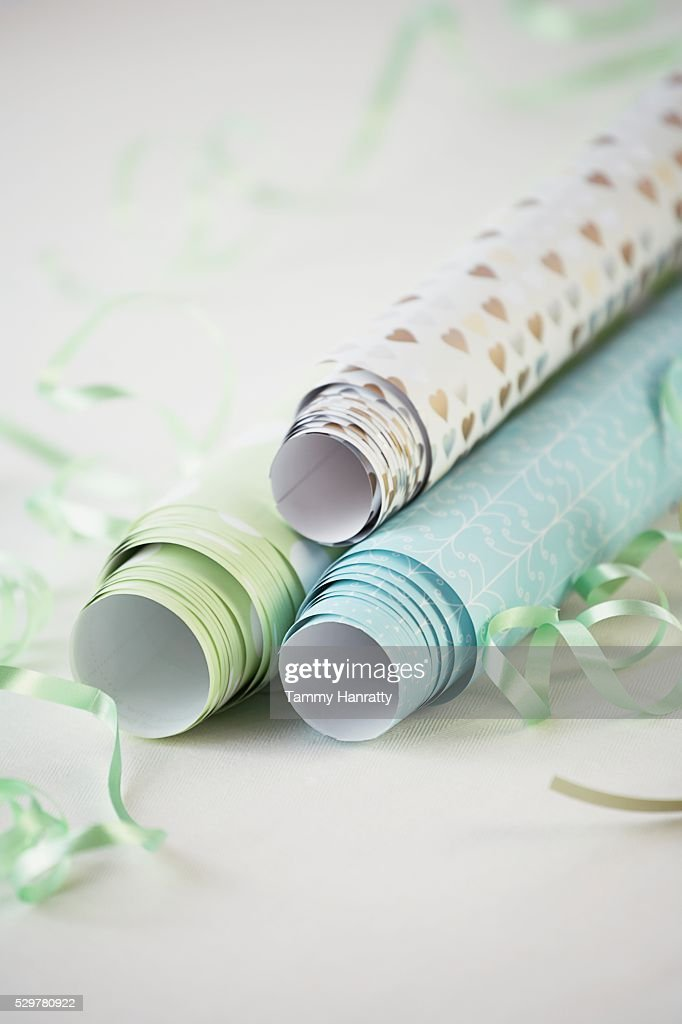 Variety of Wrapping Paper : Stock Photo