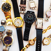 Variety of wrist watches