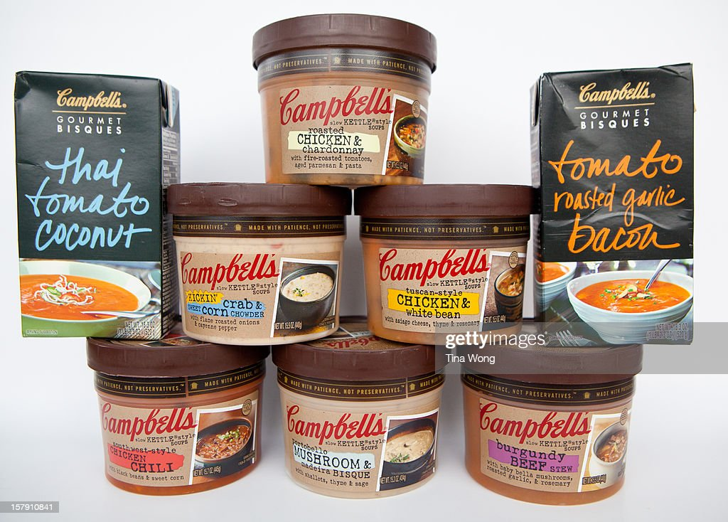 Various Campbell's soups I've tried this winter 2012 season
