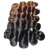 clip in wavy human hair extensions