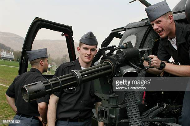 Various divisions of the United States Army visit cadets at the West Point Military Academy to help them decide on the direction of their future...