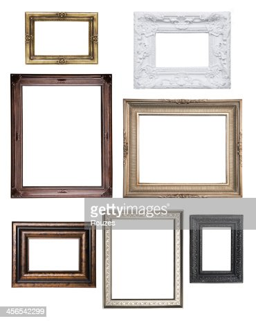 Various empty classical frame collections
