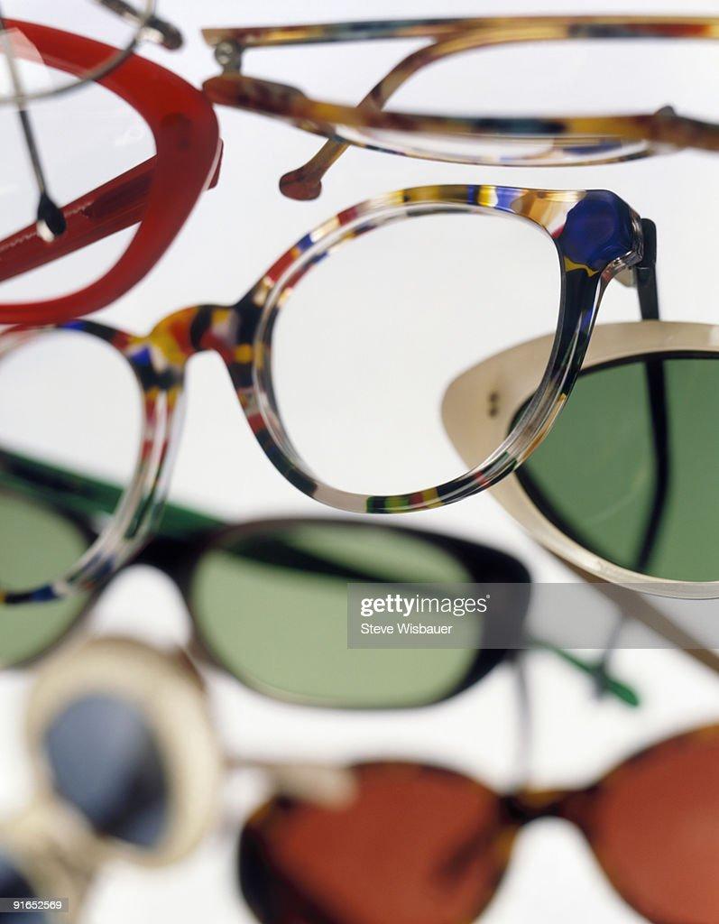 Eyeglass Frame Identification : Various Eyeglasses Frames Filling Frame Stock Photo ...