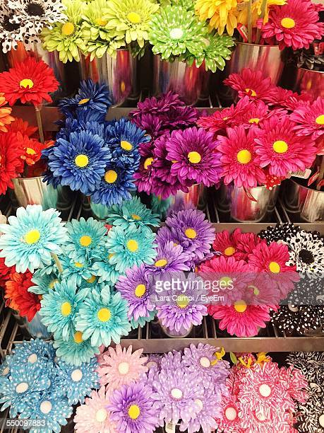 Various Flowers For Sale In Market
