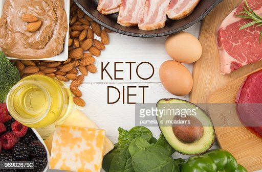 Various Foods that are Perfect for the Keto Diet : Stock Photo