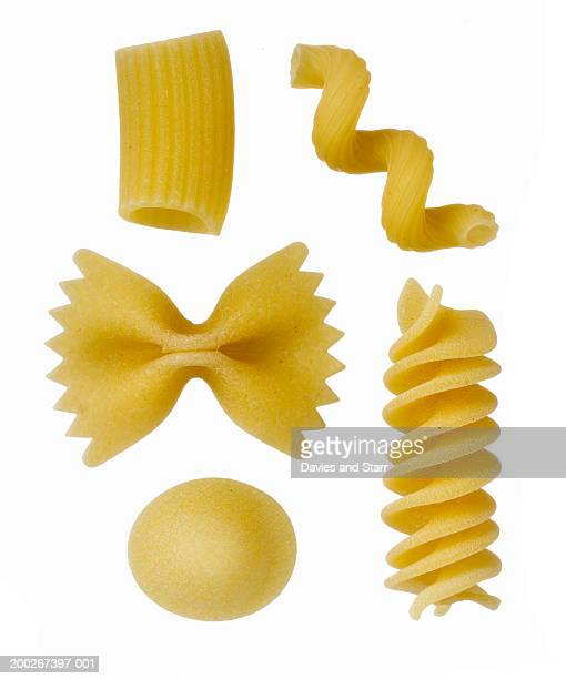 Various forms of pasta