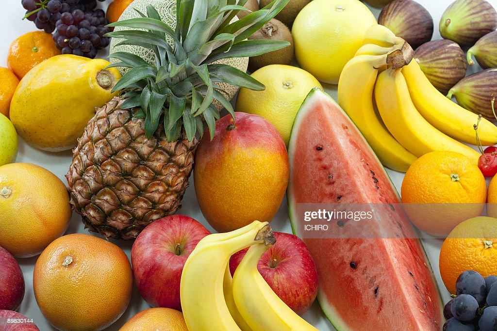 Various fruits. : Stock Photo