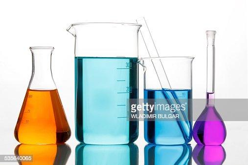 Various Lab glassware