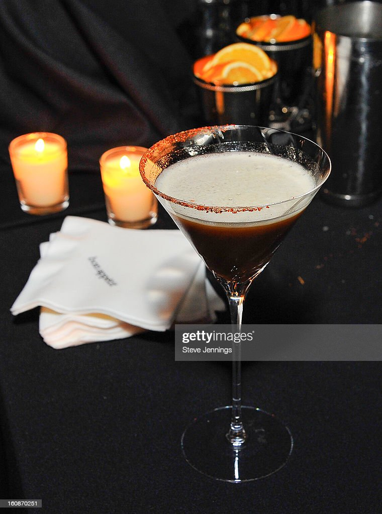 Various mixed drinks are served at the Exclusive Preview of the 2013 Vegas Uncork'd By Bon Appetit at One Kearny Street on February 6, 2013 in San Francisco, California.