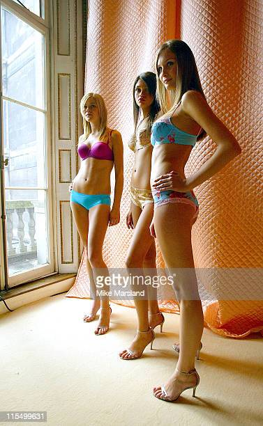 Various Models during Marks and Spencer Spring / Summer Underwear Collection Photocall at The In and Out Club in London United Kingdom