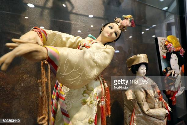 Various nations dolls display at the Dolls Museum as it reopened for public in Jaipur Rajasthan India Thursday 06 July2017 Dolls from different...